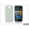 Haffner HTC Desire 300 szilikon hátlap - S-Line - fehér