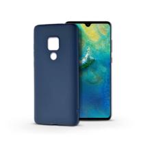 Haffner Huawei Mate 20 szilikon hátlap - Soft - kék tok és táska