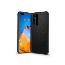 Haffner Huawei P40 hátlap - Liquid Air - fekete tok és táska