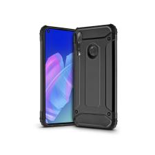 Haffner Huawei P40 Lite E ütésálló hátlap - Armor - fekete tok és táska