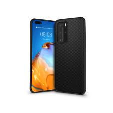 Haffner Huawei P40 Pro hátlap - Liquid Air - fekete tok és táska