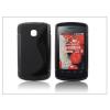 Haffner LG E410 Optimus L1 II szilikon hátlap - S-Line - fekete