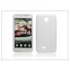 Haffner LG P875 Optimus F5 szilikon hátlap - S-Line - fehér
