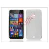 Haffner Microsoft Lumia 535 szilikon hátlap - S-Line - transparent