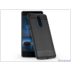 Haffner Nokia 8 szilikon hátlap - Carbon - fekete