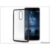 Haffner Nokia 8 szilikon hátlap - Jelly Electro - fekete