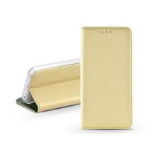 Haffner S-Book Flip bőrtok - Apple iPhone 11 Pro Max - arany tok és táska