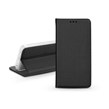 Haffner S-Book Flip bőrtok - Xiaomi Redmi Note 9 - fekete tok és táska