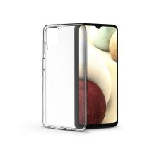 Haffner Samsung A125F Galaxy A12 szilikon hátlap - Soft Clear - transparent tok és táska