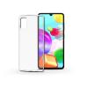 Haffner Samsung A415F Galaxy A41 szilikon hátlap - Soft Clear - transparent
