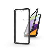 Haffner Samsung A525F Galaxy A52/A526B Galaxy A52 5G mágneses, 2 részes hátlap előlapi üveggel - Magneto 360 - fekete tok és táska