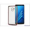 Haffner Samsung A730F Galaxy A8 Plus (2018) szilikon hátlap - Jelly Electro - rose gold