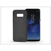 Haffner Samsung G950F Galaxy S8 szilikon hátlap - Carbon - fekete