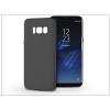 Haffner Samsung G950F Galaxy S8 szilikon hátlap - Soft - fekete
