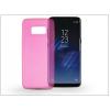 Haffner Samsung G950F Galaxy S8 szilikon hátlap - Ultra Slim 0,3 mm - pink