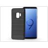 Haffner Samsung G960F Galaxy S9 szilikon hátlap - Carbon - fekete