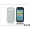 Haffner Samsung i8260 Galaxy Core szilikon hátlap - S-Line - fehér