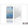 Haffner Samsung i9150 Galaxy Mega 5.8 szilikon hátlap - S-Line - transparent