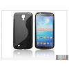 Haffner Samsung i9200 Galaxy Mega 6.3 szilikon hátlap - S-Line - fekete