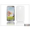Haffner Samsung i9500 Galaxy S4 szilikon hátlap - transparent - S-Line