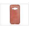 Haffner Samsung J120F Galaxy J1 (2016) szilikon hátlap - Jelly Brush - piros