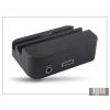 Haffner Samsung N9000 Galaxy Note 3 asztali töltő + audió be/kimenet - fekete