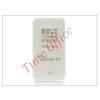 Haffner Samsung SM-E700 Galaxy E7 szilikon hátlap - Ultra Slim 0,3 mm - transparent