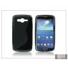 Haffner Samsung SM-G386 Galaxy Core LTE szilikon hátlap - S-Line - fekete