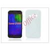Haffner Samsung SM-G388F Galaxy Xcover 3 szilikon hátlap - S-Line - fehér