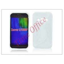 Haffner Samsung SM-G388F Galaxy Xcover 3 szilikon hátlap - S-Line - fehér tok és táska