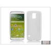Haffner Samsung SM-G900 Galaxy S5 szilikon hátlap - S-Line - fehér