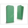 Haffner Slim Flexi Flip bőrtok - Apple iPhone 7/iPhone 8 - lime