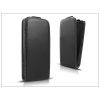 Haffner Slim Flexi Flip bőrtok - Sony Xperia X - fekete