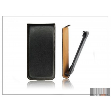 Haffner Slim Flip bőrtok - Huawei Ascend Y310 - fekete tok és táska