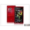 Haffner Sony Ericsson Satio U1 szilikon hátlap - piros - LUX