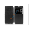 Haffner Sony Xperia M5 (E5603/E5606/E5653) S-View Flexi oldalra nyíló flipes tok - fekete