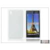 Haffner Sony Xperia Z1 (C6903) szilikon hátlap - S-Line - fehér