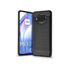 Haffner Xiaomi Mi 10T Lite 5G szilikon hátlap - Carbon - fekete tok és táska