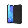 Haffner Xiaomi Redmi 9 szilikon hátlap - Soft Premium - fekete