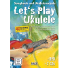 HAGE Musikverlag Let's Play Ukulele with DVD and 2 CDs