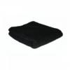 Hair Tools festékálló fekete fodrász törölköző, 12 db