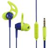 Hama Action Sport fülhallgató - kék - zöld (177021)