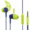 Hama Action Sport Headset Blue/Green  (177021)