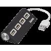 Hama fekete 4 portos USB 2.0 HUB (12177)