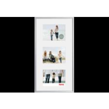 """Hama műanyag keret madrid """"gallery"""", 3x10x15 cm, ezüst fényképkeret"""