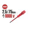 Handy Szigetelt csavarhúzó 1000V-ig 2,5 75mm 10595