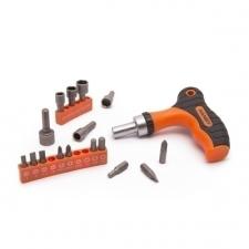 Handy Tools Handy T-markolatú racsnis csavarhúzó szett (10640) csavarhúzó