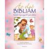 Harmat Kiadó Lizzie Ribbons: Az első Bibliám - rózsaszín - Kicsik legnagyobb ajándéka