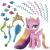 Hasbro My Little Pony: Hajápolás nap Chandance hercegnővel