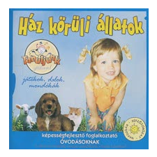 HÁZ KÖRÜLI ÁLLATOK - DALOSKÖNYV + CD + KIFESTŐ! gyermek- és ifjúsági könyv